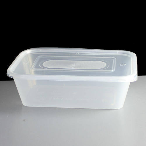 Diaposable Plastic Container