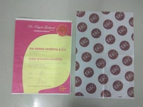 Printed Parchment Paper