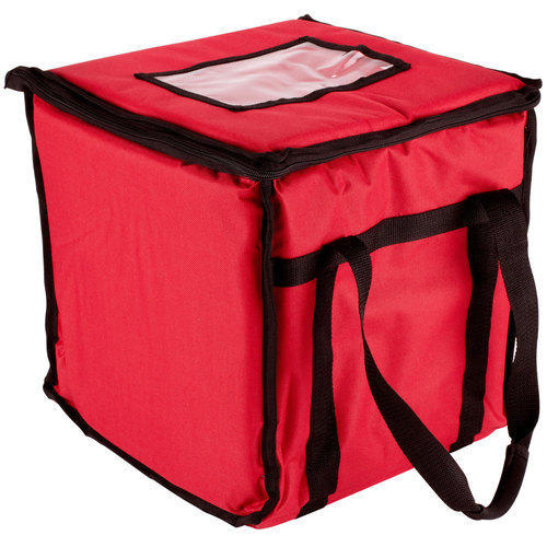 Red Insulated Delivery Bag