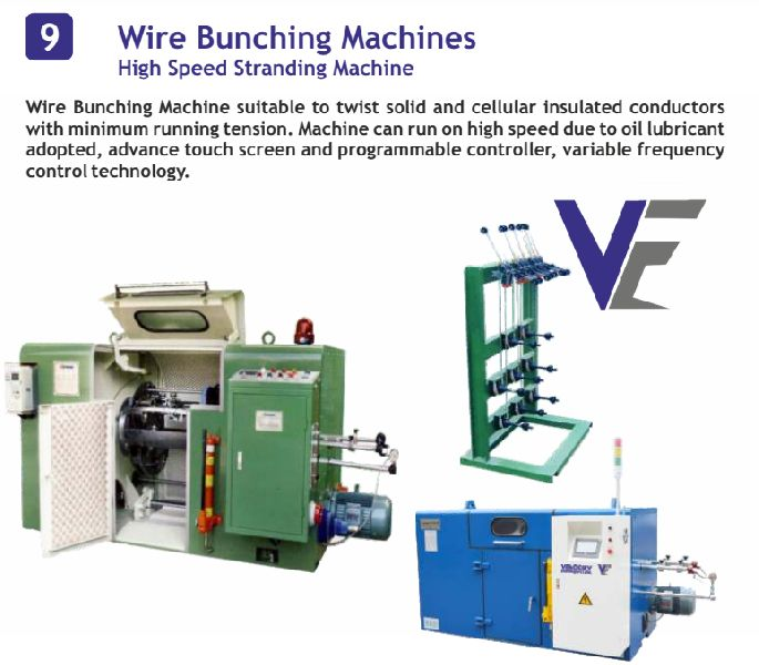Wire Bunching Machine