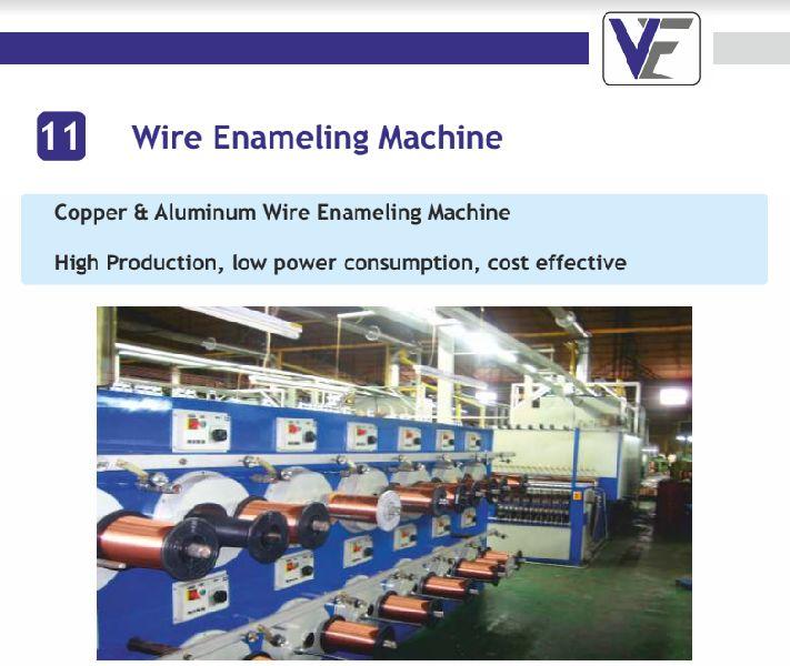 Wire Enameling Machine