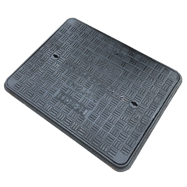 BS 497/76 Solid Top Double Seal Manhole Cover & Frames