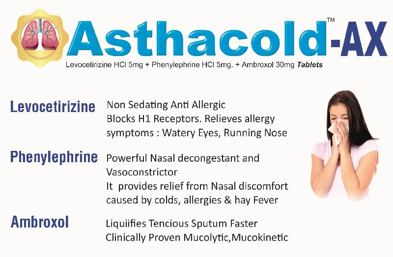 Asthacold-AX Tablets