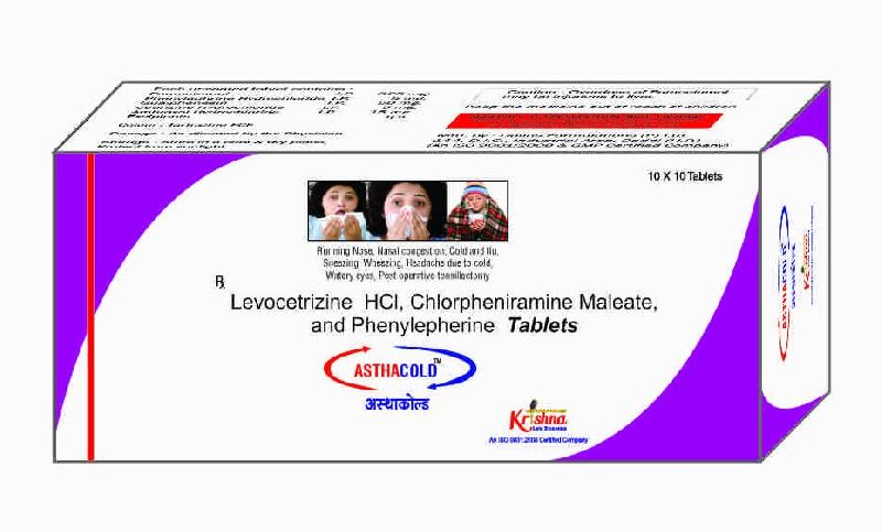 Asthacold Tablets