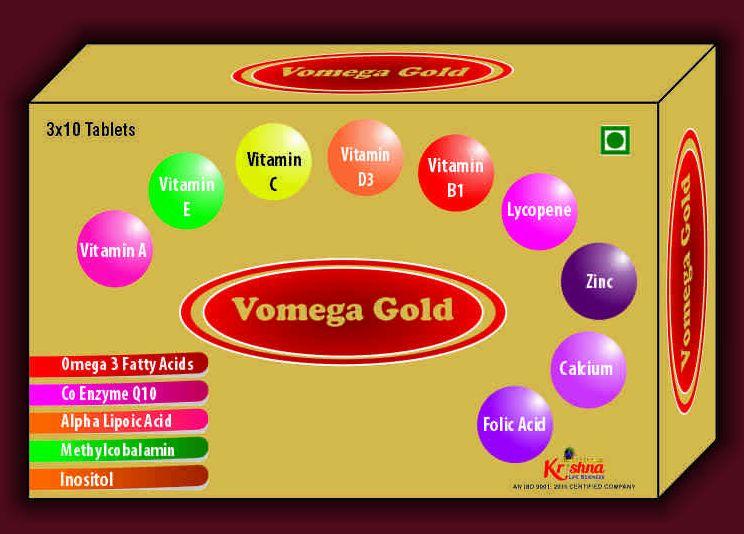 Vomega Gold Tablets