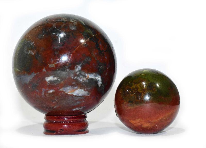 Bloodstone Sphere Ball