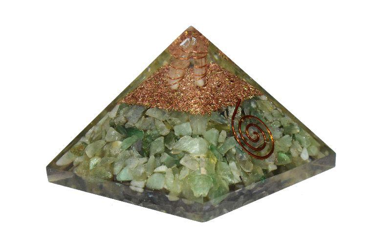 Green Aventurine Orgone Pyramid