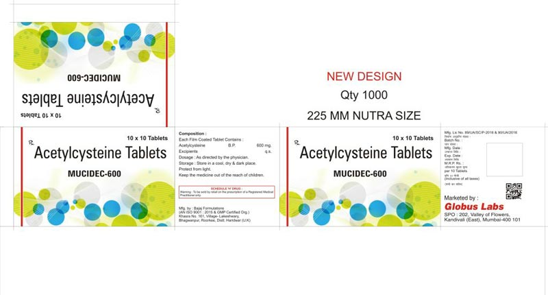 Acetylcysteine Tablets