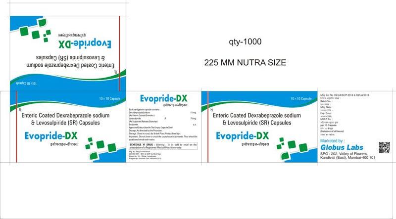 Levosulpiride & Dexrabeprazole (SR) Capules