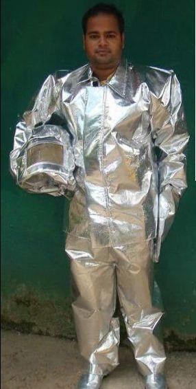 Full Aluminized Complete Body Suit