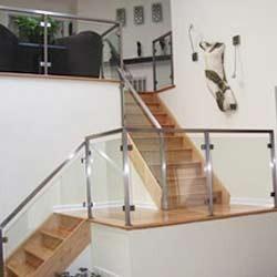 Stainless Steel Glass Railings