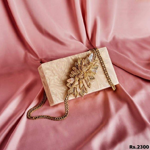 Gorgeous Brass Clutch Purse
