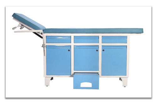 Hospital Examination Table With Cabinet