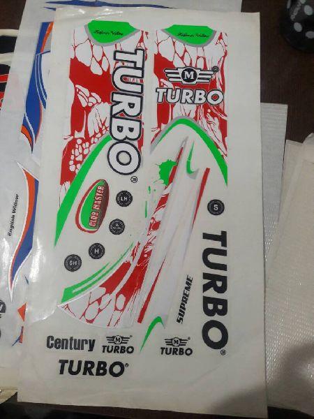 Vinyl Cricket Bat Sticker