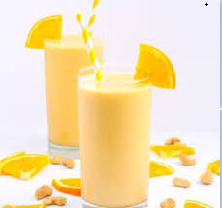 Orange Flavored Milk