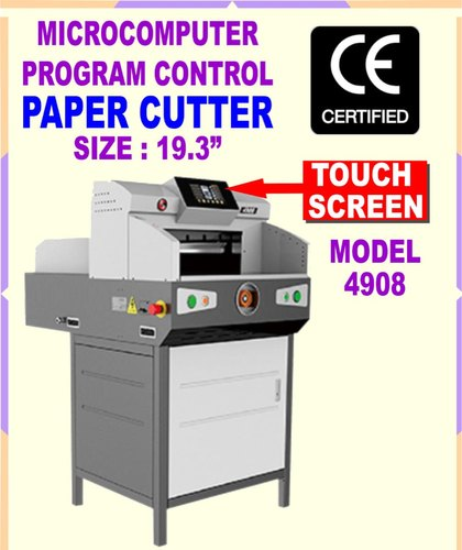 4908 Electric Paper Cutting Machine