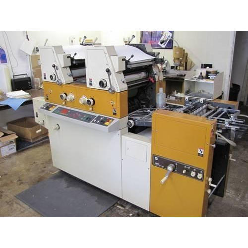Ryobi 3302 & 3985 2 Colors Mini Offset Printing Machine