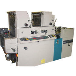 Ryobi 3302 Two Colour Offset Printing Machine