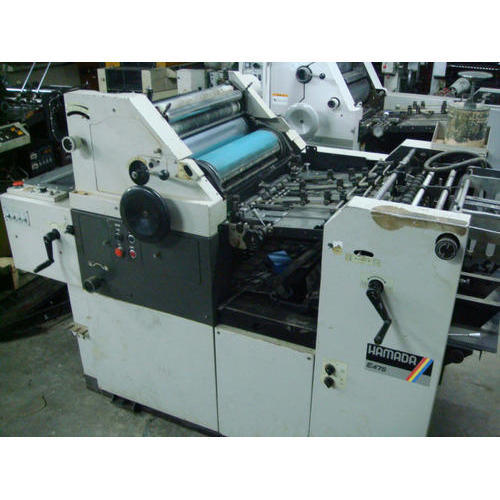 Used Hamada E47 Mini Offset Printing Machine