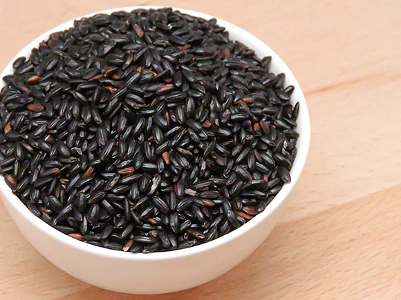 Raw Black Rice