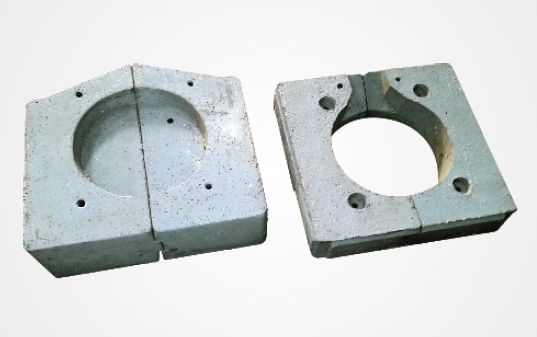 Induction Furnace Top & Bottom Blocks