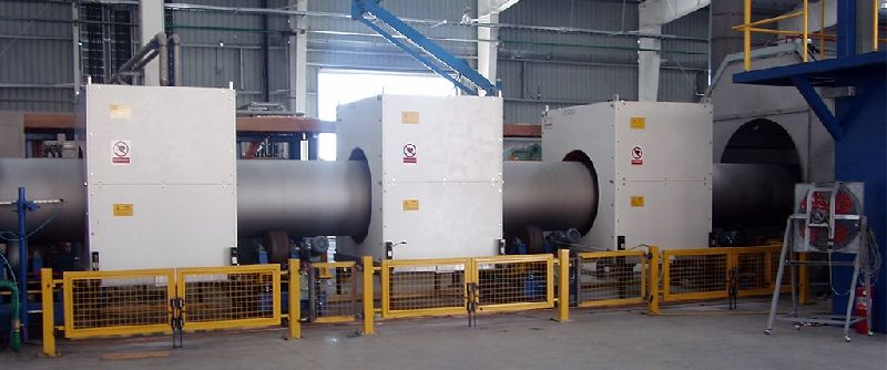 Induction Pipe Heating