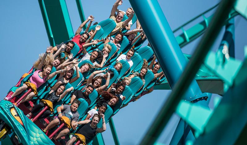 Amusement Park Seat Belt