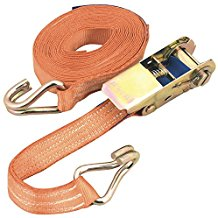 Ratchet Strap with Double J Hook