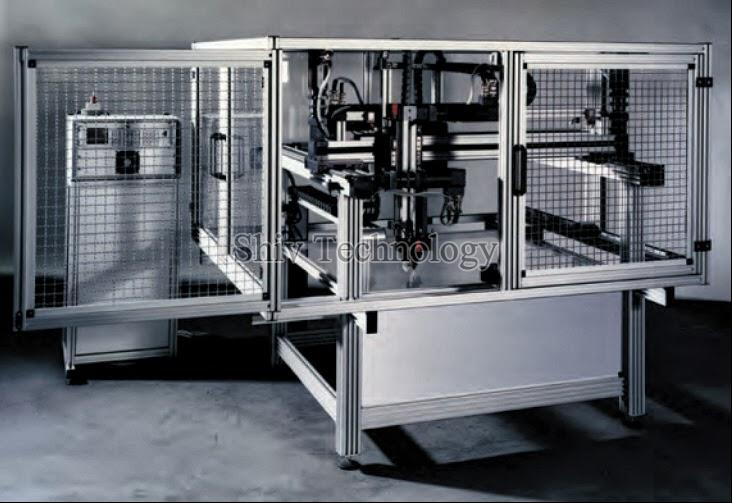 Assembly line Machine fencing Guard