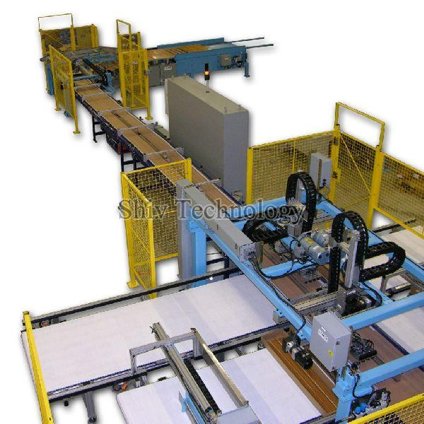 Factory Assembly Line Automation