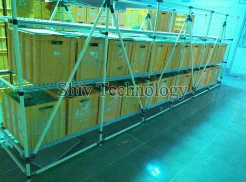 FIFO Storage Rack Trolley