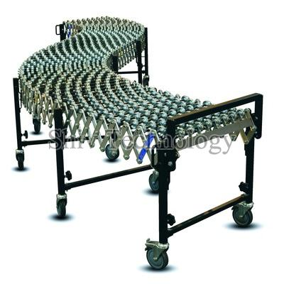 Powered Roller Shaft Conveyor