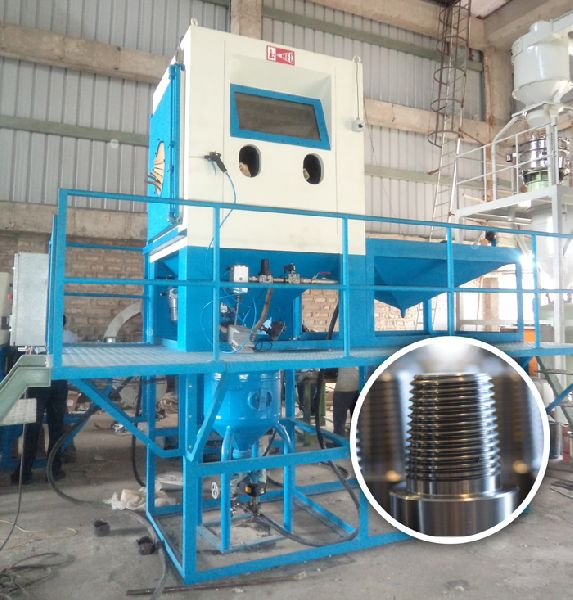 Automatic Glass Bead Peening Machine
