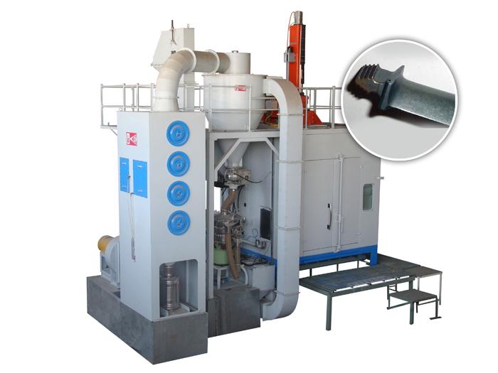 CNC Ceramic Peening Machine