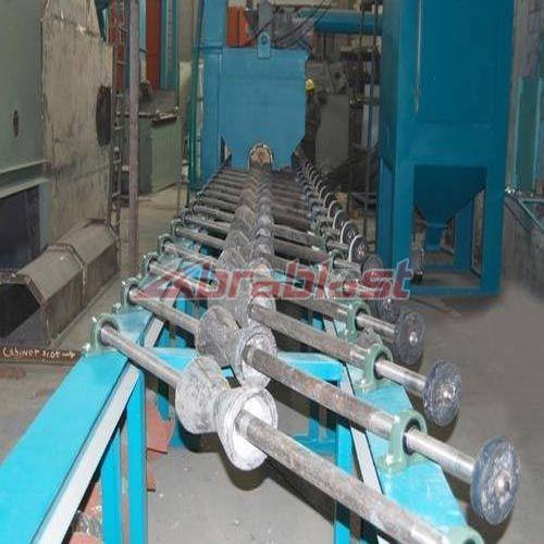Diabola Type Shot Blasting Machine