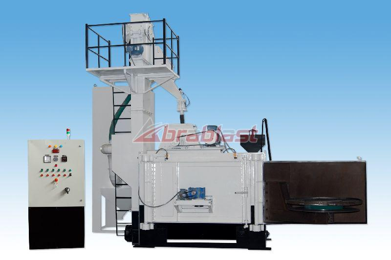 Swing Table Shot Blasting Machines AB-AST-1800 06