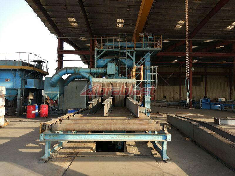 Tunnerl Structure Shot Blasting Machine 04
