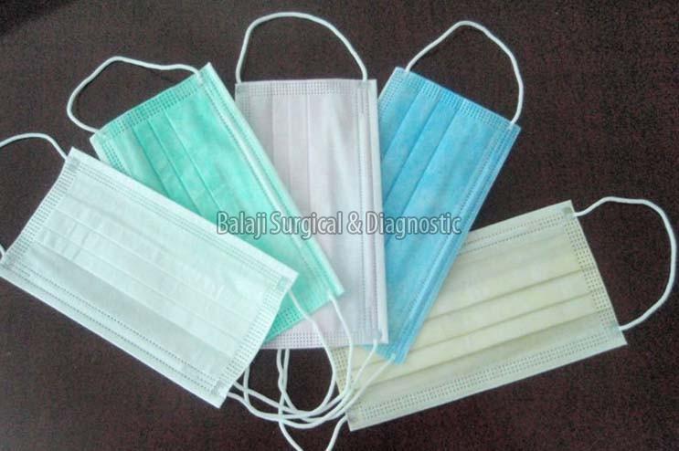 Exporter - Non Woven India In Face Rewari Manufacturer Supplier Mask