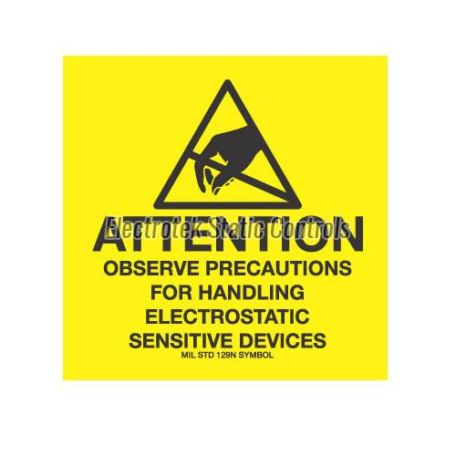 ESD Warning Label