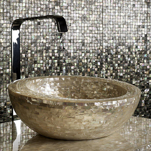 Mother Of Pearl Wash Basin