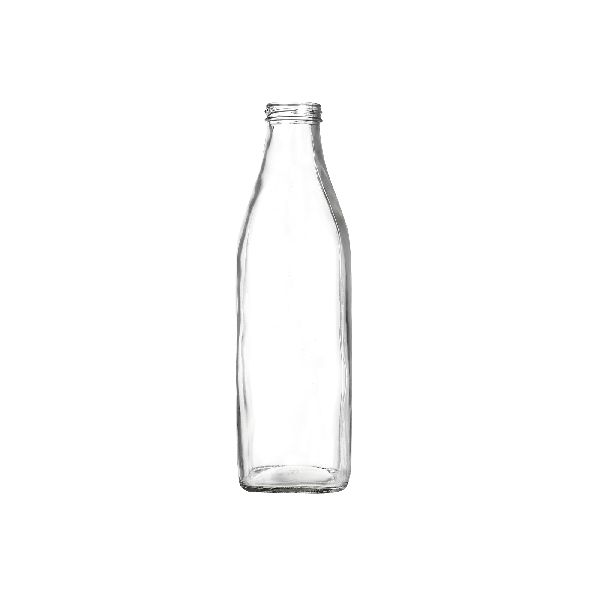 1000ml Square Milk Glass Bottle