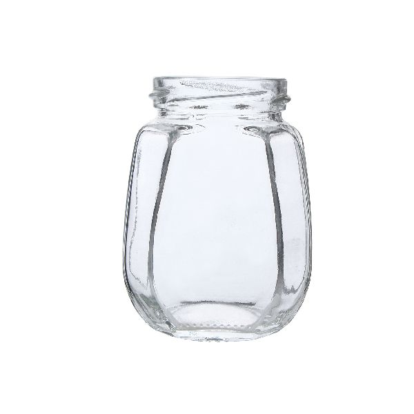 250gm Crown Glass Jar