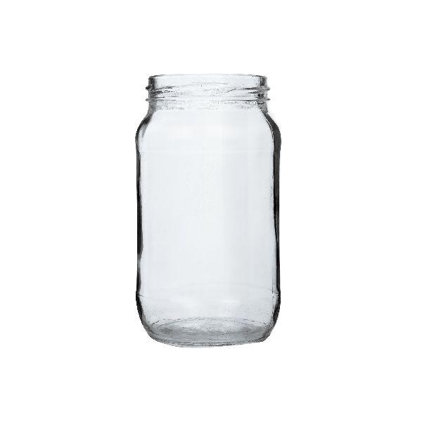 500gm Honey Round Glass Jar