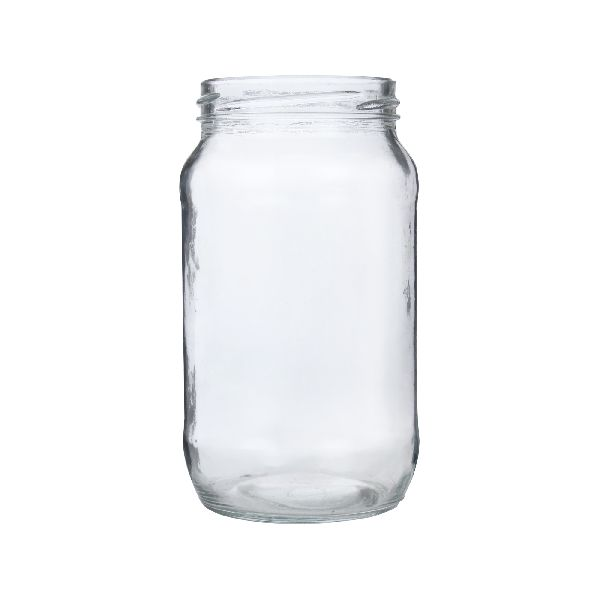 800ml Round Glass Jar