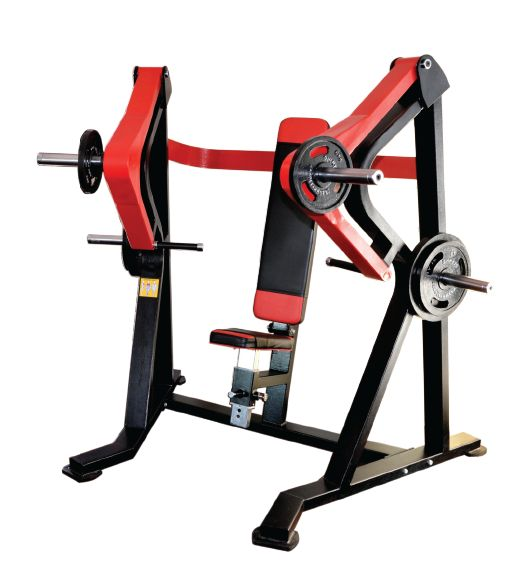 K Pro Seated Flat Chest Press Machine