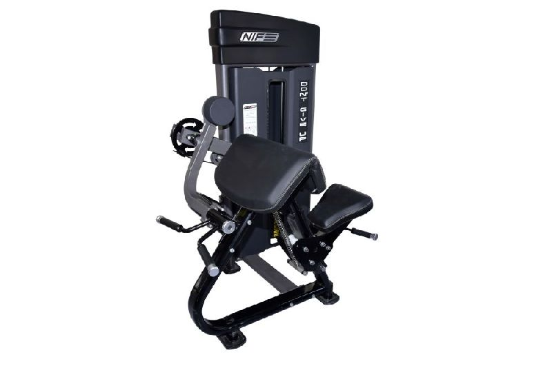 S Pro Arm Curl Pulley Machine