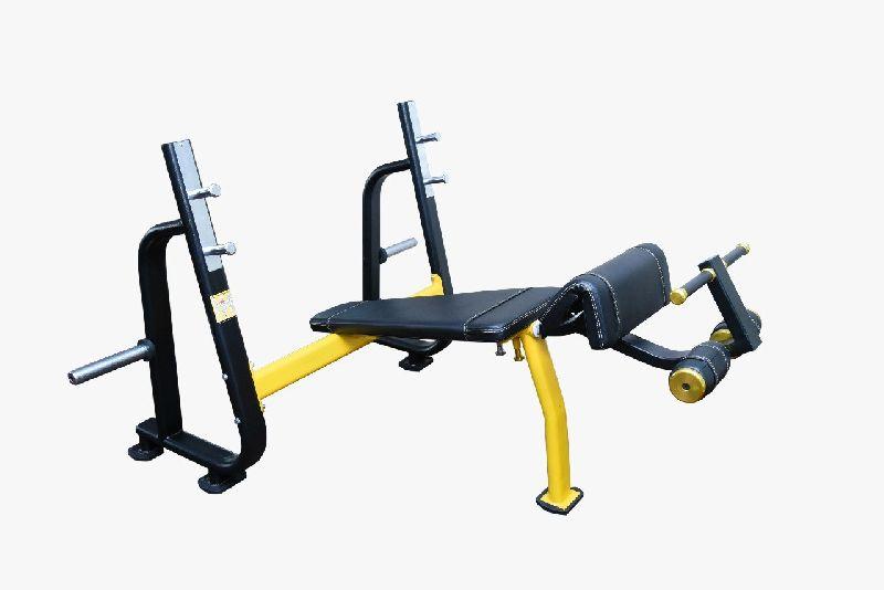 S Pro Olympic Decline Bench Press Machine