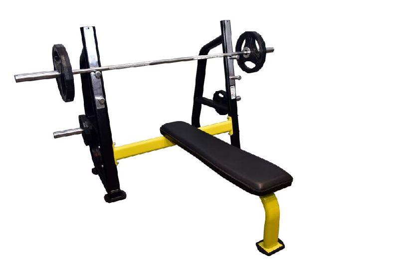 S Pro Olympic Flat Bench Press Machine