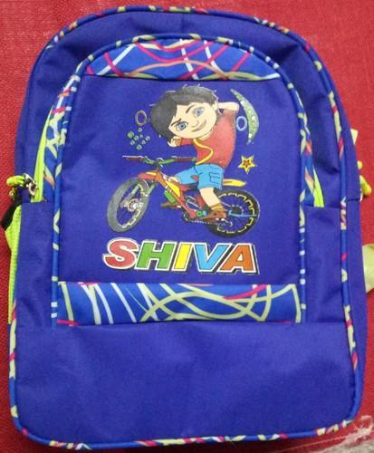 Blue PVC Backpack Bags