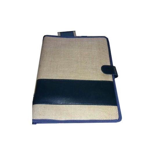 Brown & Black Jute File Folder